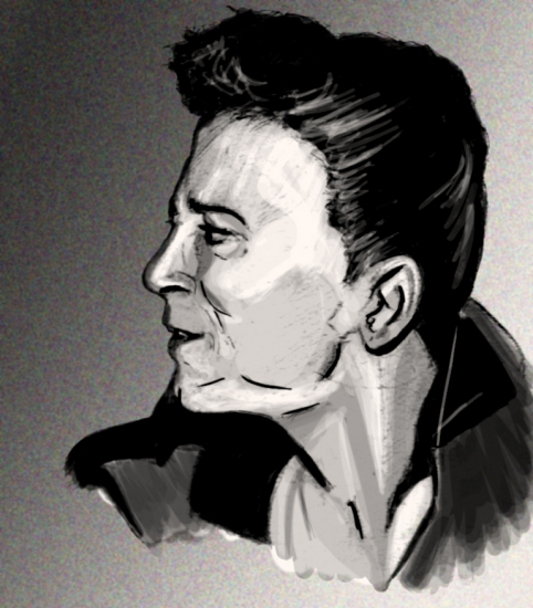 Gene Vincent by lokiangel87